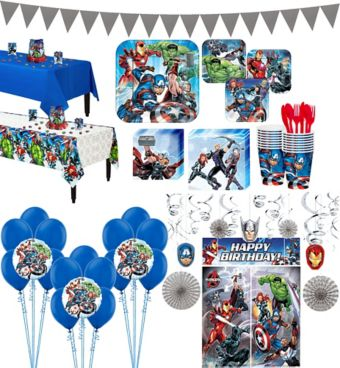 Avengers Tableware Ultimate Kit for 16 Guests