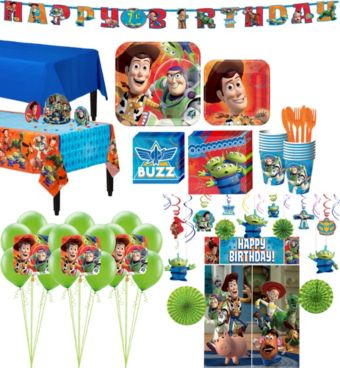 Toy Story Tableware Ultimate Kit for 16 Guests
