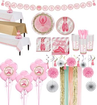 Ballerina Tableware Ultimate Kit for 24 Guests