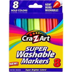 Cra-Z-Art Bold Super Washable Broadline Markers 8ct