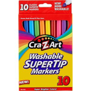 Cra-Z-Art Washable Super Tip Markers 10ct