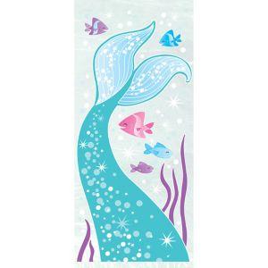 Mermaid Favor Bags 20ct