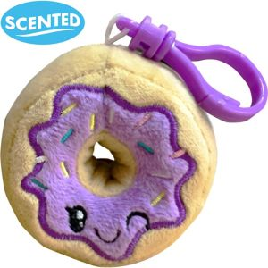 Clip-On Jelly Donut-Scented Backpack Buddies Plush