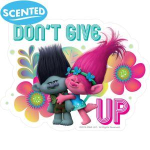 Jumbo Trolls Tutti Frutti Scratch & Sniff Stickers 2ct