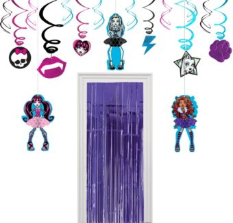 Monster High Decoration Kit