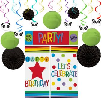 Panda Party Decoration Kit