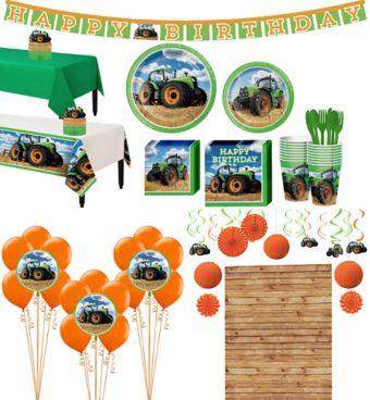 Tractor Tableware Ultimate Kit for 16 Guests