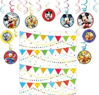 Mickey Mouse Roadster Decoration Kit