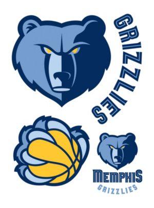 Memphis Grizzlies Decals 5ct