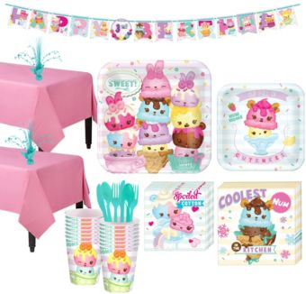 Num Noms Tableware Party Kit for 16 Guests