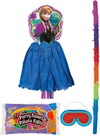 Anna Pinata Kit with Candy & Favors Deluxe - Frozen