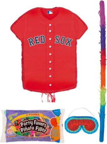 Boston Red Sox Pinata Kit with Candy & Favors