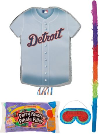 Detroit Tigers Pinata Kit with Candy & Favors
