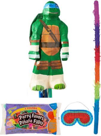 Leonardo Pinata Kit with Candy & Favors - Teenage Mutant Ninja Turtles