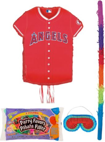 Los Angeles Angels Pinata Kit with Candy & Favors