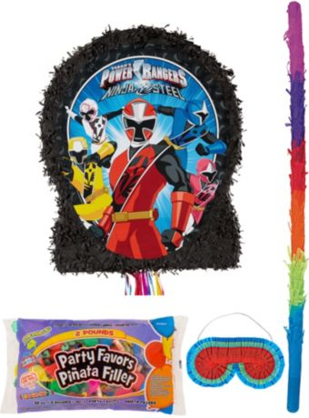 Power Rangers Pinata Kit with Candy & Favors