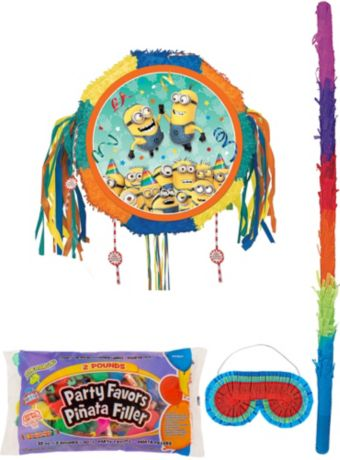 Minions Pinata Kit with Candy & Favors - Despicable Me