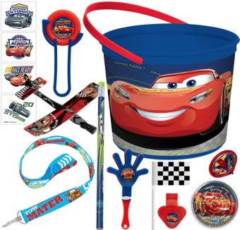 Cars 3 Ultimate Favor Kit for 8 Guests