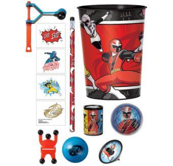 Power Rangers Ninja Steel Super Favor Kit for 8 Guests