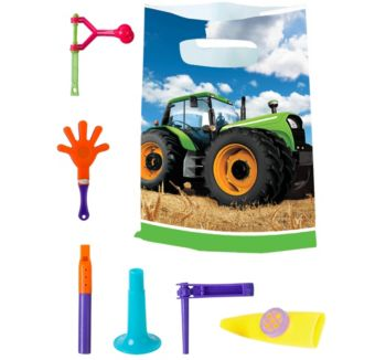 Tractor Basic Favor Kit for 8 Guests