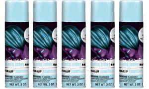 Black Light Neon Hair Spray 5ct