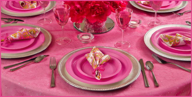 Bright Pink Wedding Supplies #2