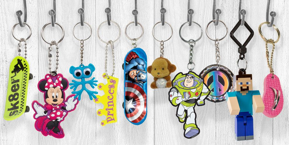 Key Chains Cute Amp Cool Key Chains For Kids Party City