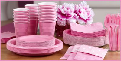 Pink Birthday Decorations Ideas Image Inspiration of Cake and
