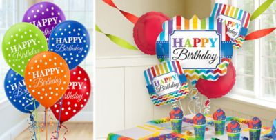 70th 80th 90th and 100th Birthday Balloons Party City
