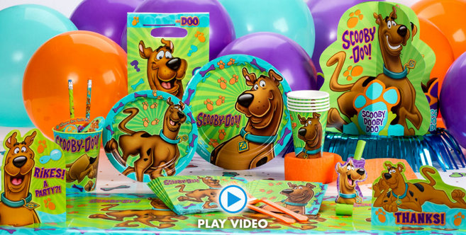 Scooby Doo Party Supplies Scooby Doo Birthday Party City