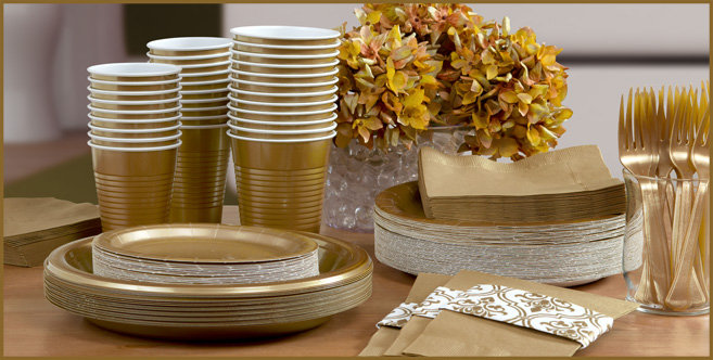 solid gold tableware #3