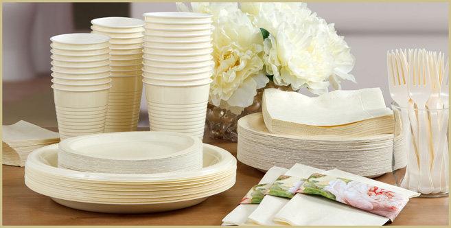 solid vanilla tableware #3