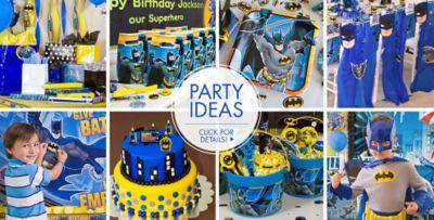 Batman Party Supplies Batman Birthday Ideas Party City