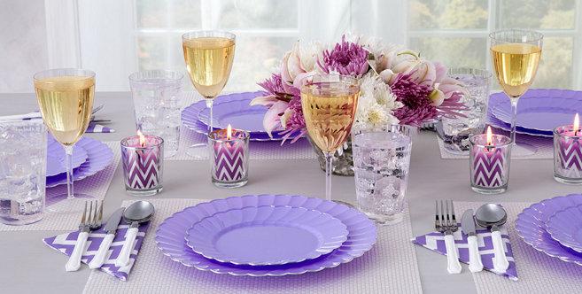 Lavender Tableware #2