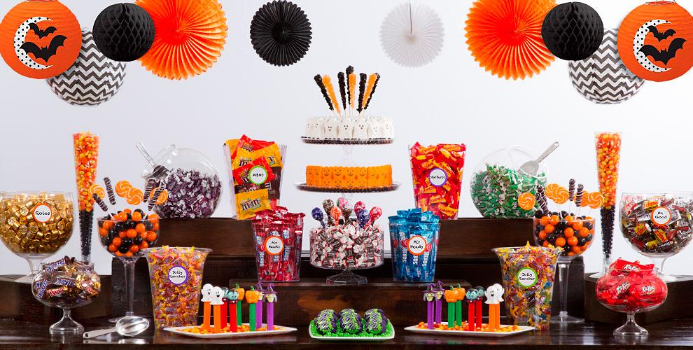 halloween candy buffet - Halloween Party City