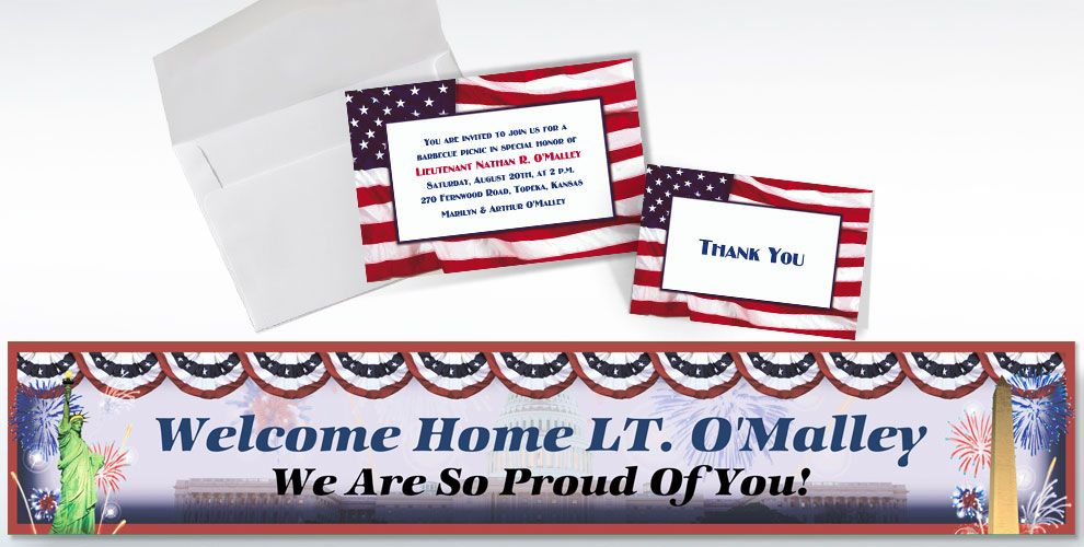 Custom Welcome Home Invitations & Thank You Notes - Party City