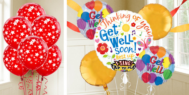 Get Well Balloons Party City