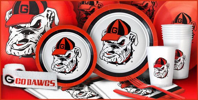 Georgia Bulldogs Party Supplies Party City