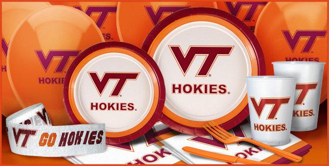 Virginia Tech Hokies Party Supplies Party City