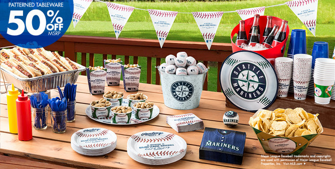 Mlb Seattle Mariners Party Supplies Party City