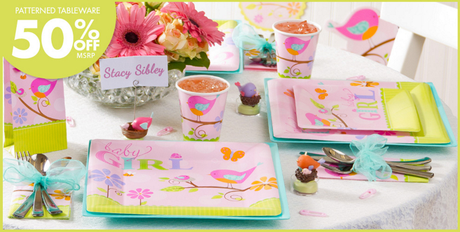 tweet baby girl baby shower party supplies party city