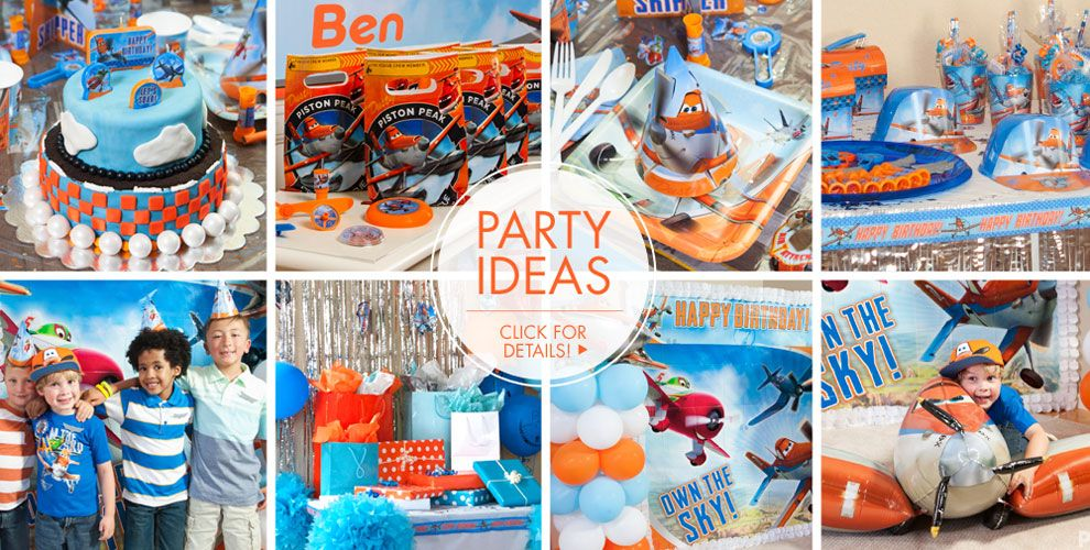 Planes 2 Party Supplies #3