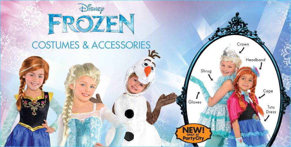 Frozen Party Supplies 2
