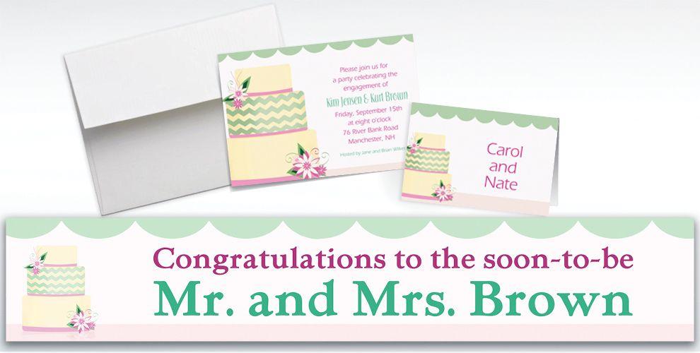 Custom Modern Wedding Cake Wedding Invitations Amp Thank You Notes
