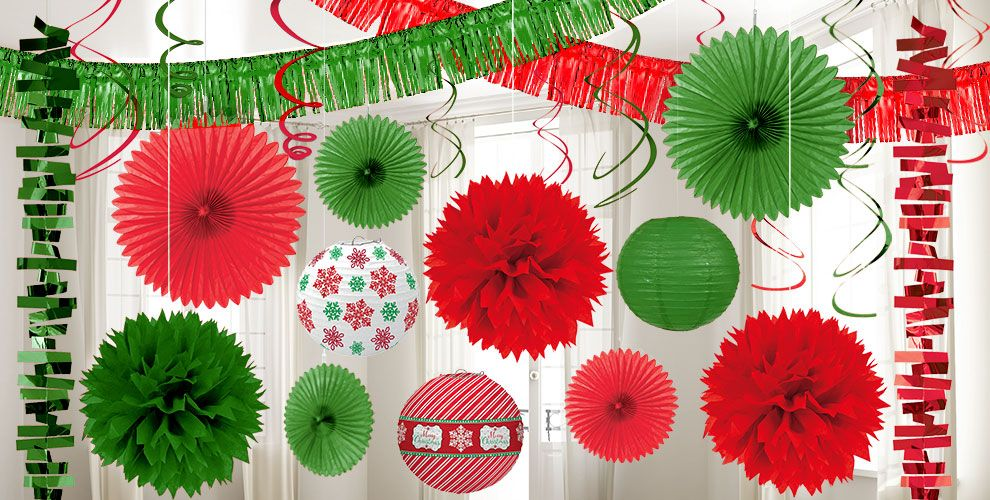 Christmas Decorations by Color