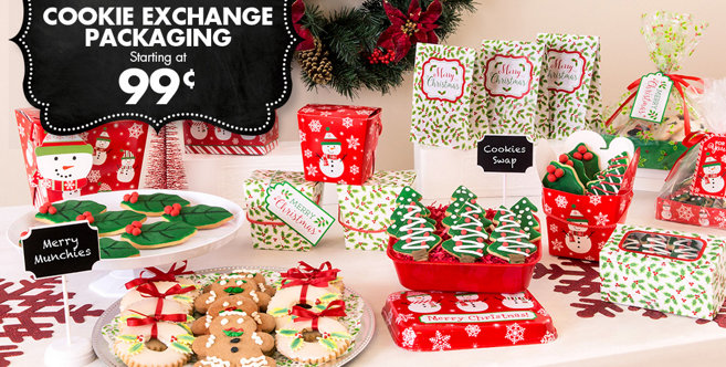 Christmas Treat Bags Amp Boxes Party City