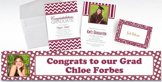 Berry Custom Invitations and Banners #2