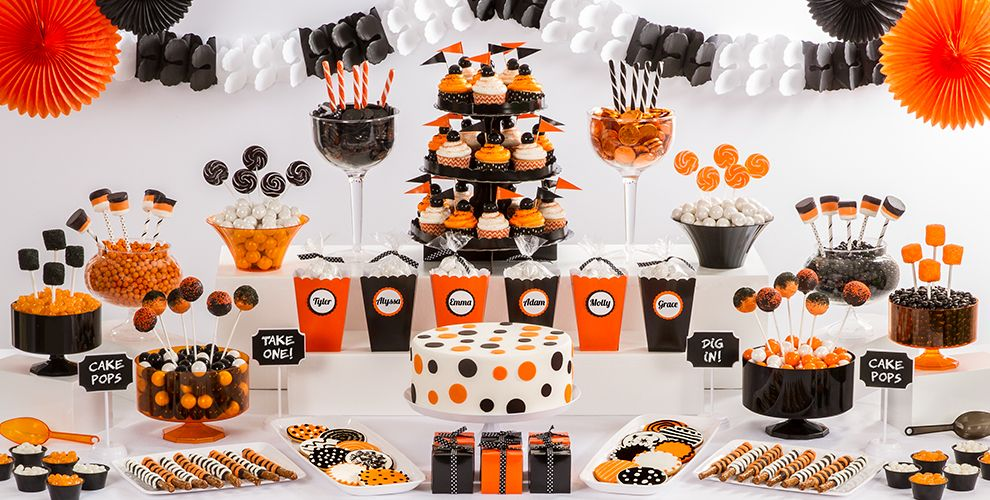 Halloween Solid Color Sweets and Treats