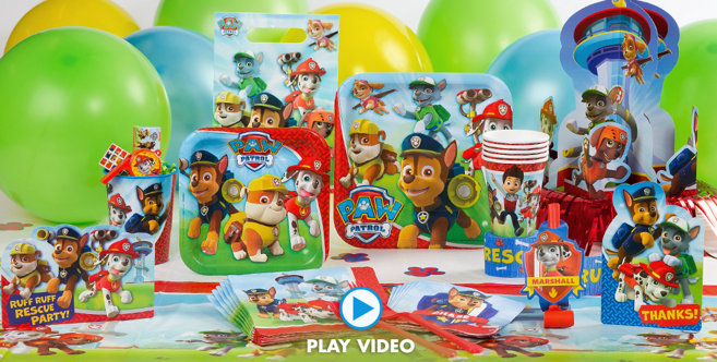 Decorating Ideas > PAW Patrol Party Supplies  PAW Patrol Birthday  Party City ~ 180449_Birthday Party Ideas Quezon City