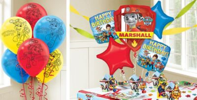 PAW Patrol Balloons PAW Patrol Birthday Balloons Party City Canada